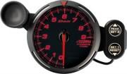red tachometer 9000RPM