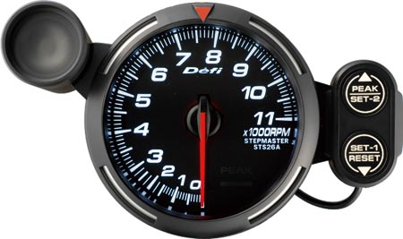 DF12103 racer gauge lineup 3 1 8in (80mm) tachometer defi exciting nippon seiki tachometer wiring diagram at panicattacktreatment.co