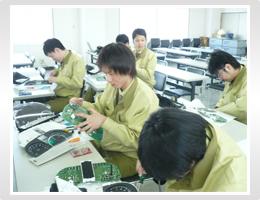 日本精機 新入社員研修 メータの構造
