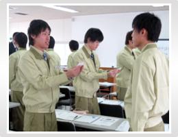 日本精機 新入社員研修 ビジネスマナー