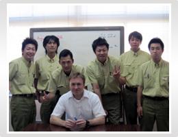日本精機 社内学習 外国語研修