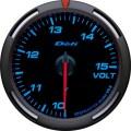 ブルー 電圧計