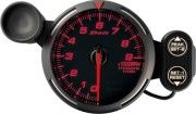 red tachometer 9000RPM