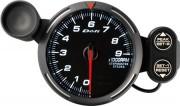 white tachometer 9000RPM