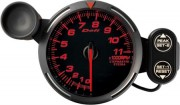 red tachometer 11000RPM
