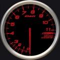ADVANCE BF tachometer 80 amber red 11000RPM