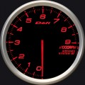 ADVANCE BF tachometer 80 amber red 9000RPM