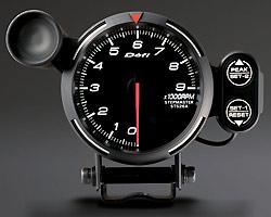 BF Tachometer 9000RPM white