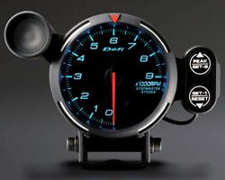 BF Tachometer 9000RPM blue