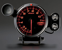 BF Tachometer 11000RPM amber red