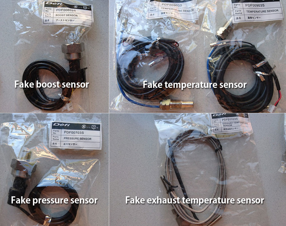 Be Aware Of Fakes Defi Products Exciting By Ns Auto Meter Water Temp Gauge Wiring Diagram Sensor