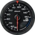 ADVANCE CR oil temp black dial 60mm