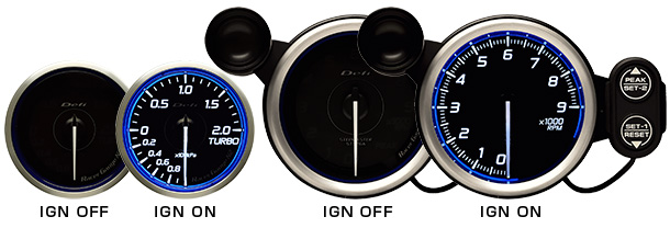 RGN2 ignition ON/OFF blue