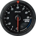 ADVANCE CR tachometer black dial 60mm