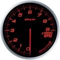 ADVANCE BF tachometer 60 amber red