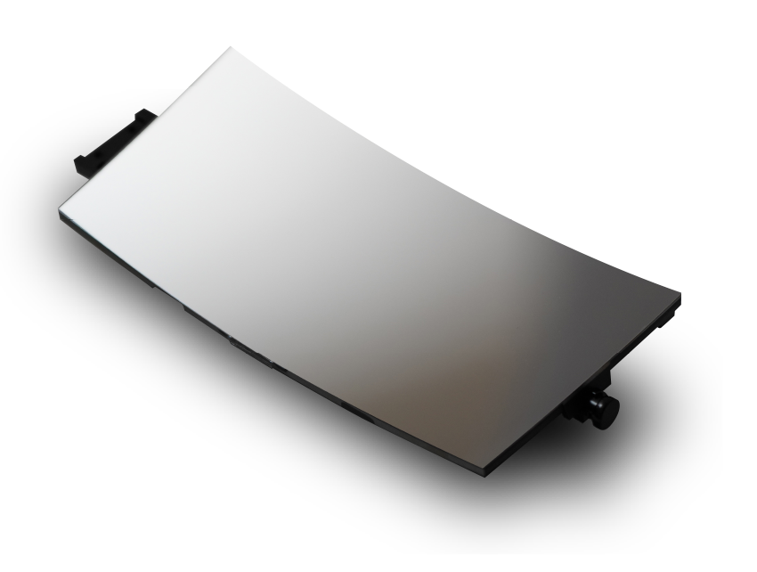 Introduction of a concave mirror by ultra-precision processing technology