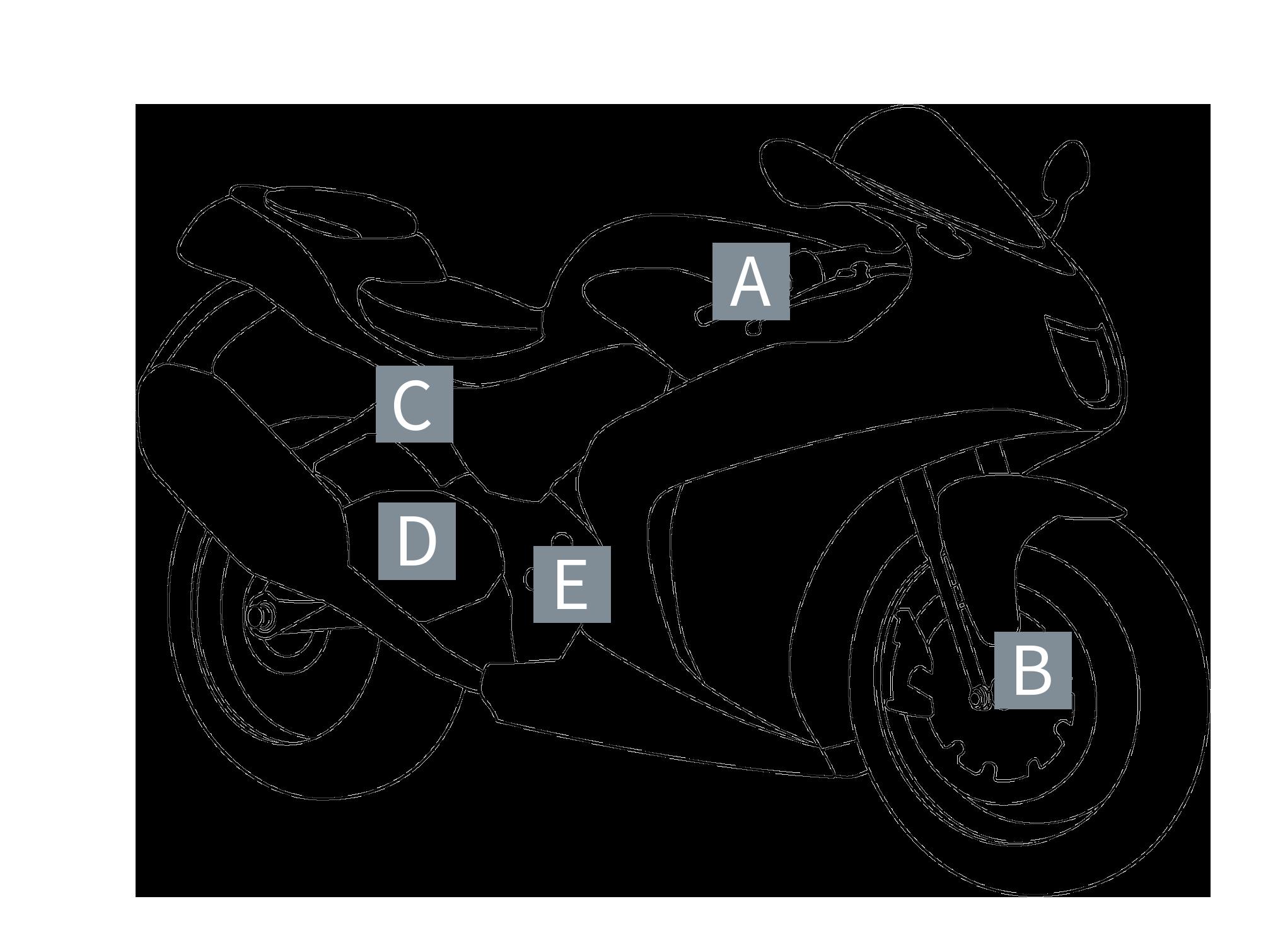 二輪センサー用途