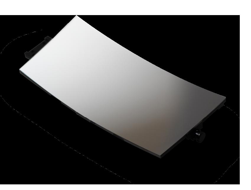 超精密加工技術による凹面鏡の内製化
