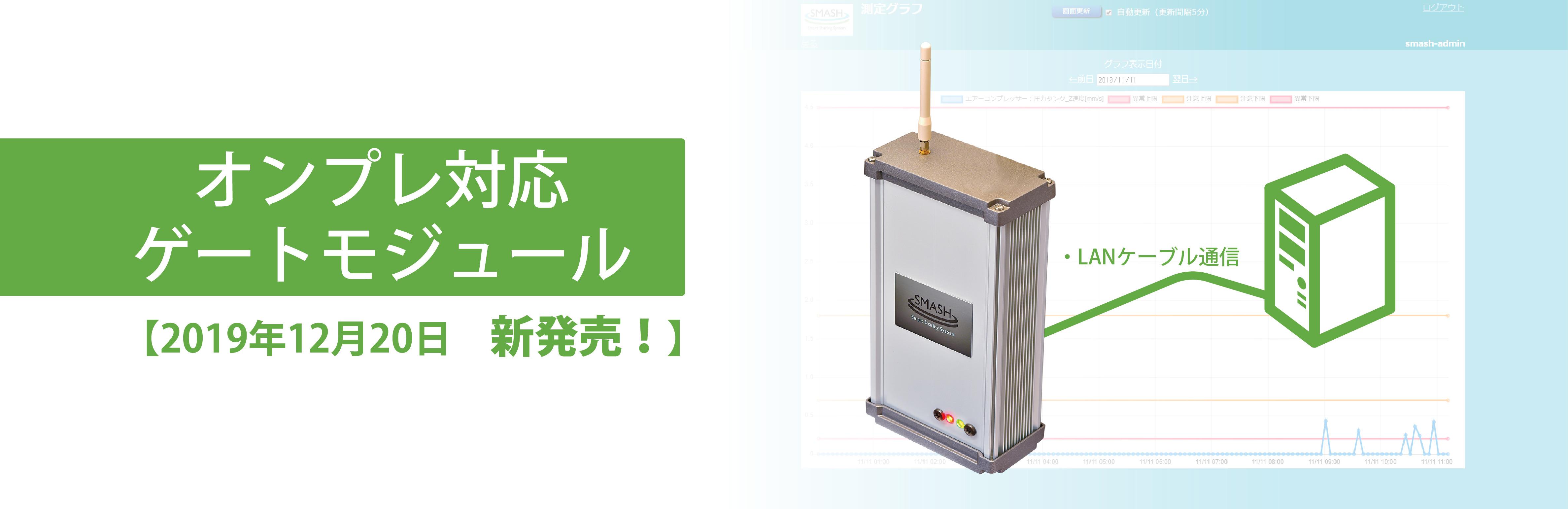 オンプレ対応ゲートモジュール発売